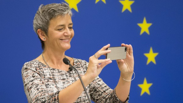 EU Competition Commissioner Vestager in USA