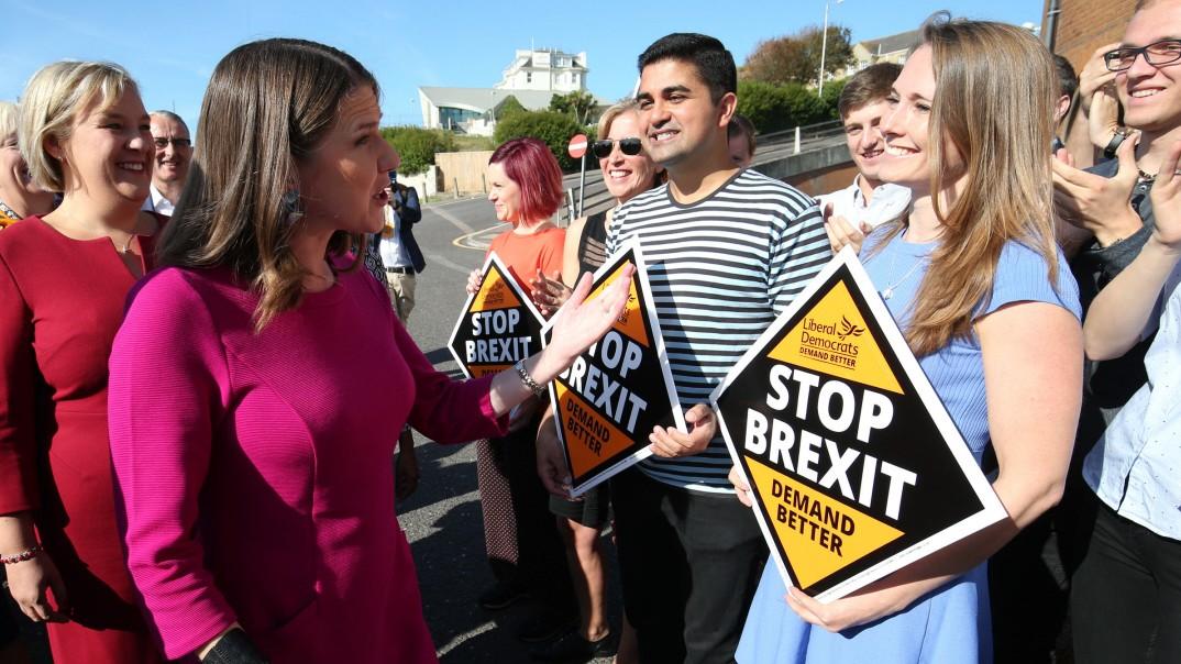 Liberaldemokraten versprechen Brexit-Absage