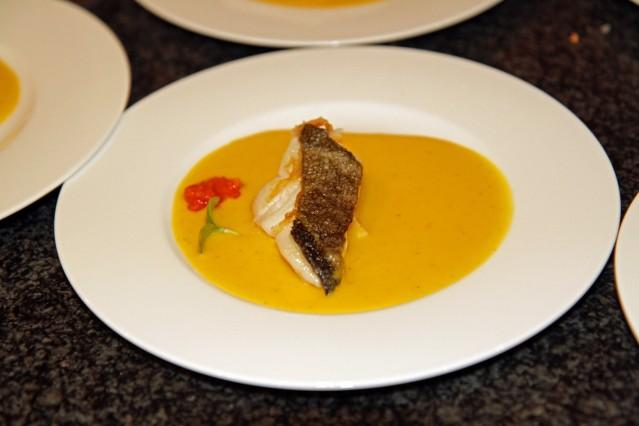 Gerichte von Dodo Liade-. Fisch in Mangosauce Foto: Voodoofood
