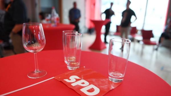 Landtagswahl Sachsen - Wahlparty SPD