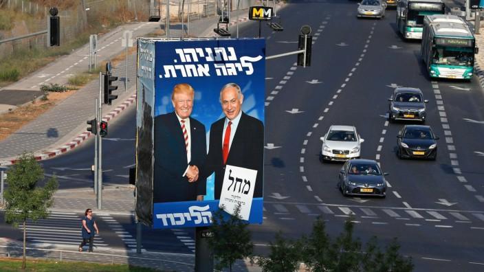Israel Netanjahu Wahl Trump