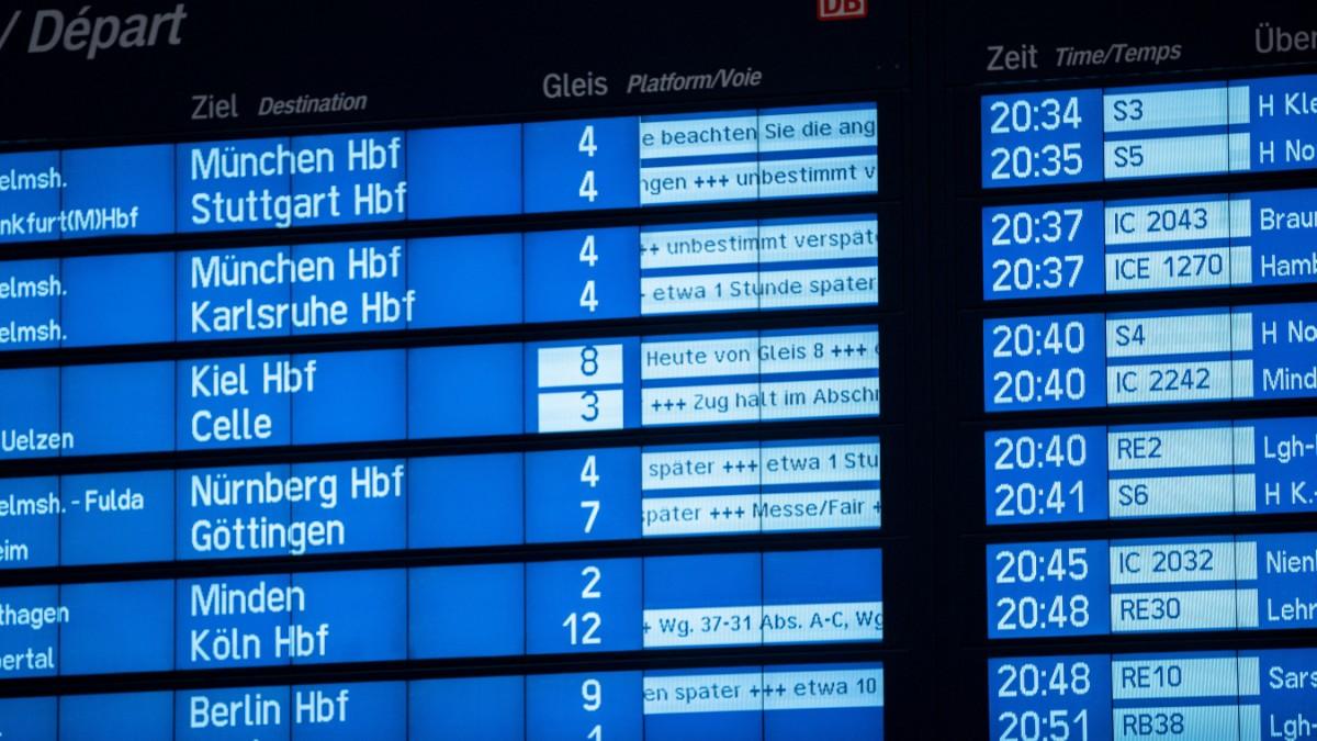 200 Reisende müssen in ICE übernachten
