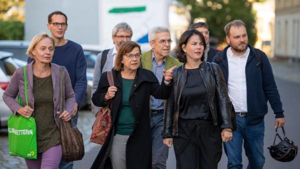 Sondierungsgespräche nach der Landtagswahl in Brandenburg