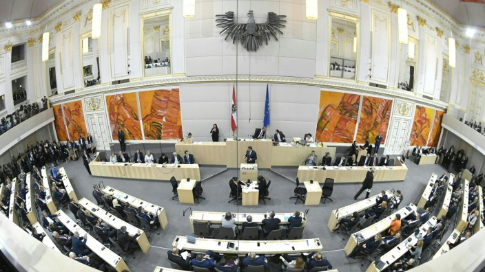 Vor den Wahlen in Österreich