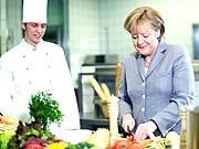 Angela Merkel, Foto: Laurence Chaperon