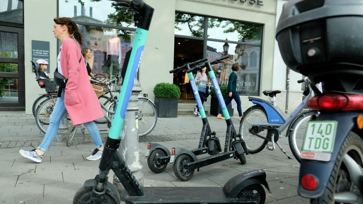 München: Ärger über E-Scooter