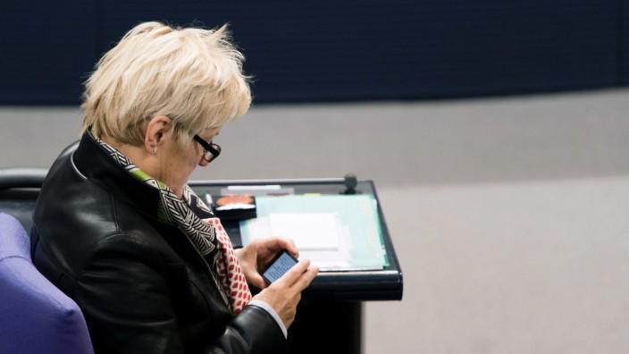 Debatte im Bundestag über Vorratsdatenspeicherung