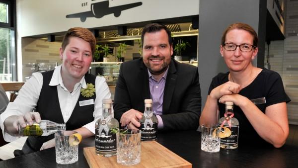 Gilching: Mariott Hotel hat eigene Gin Marke: FAHRWERKER/IN