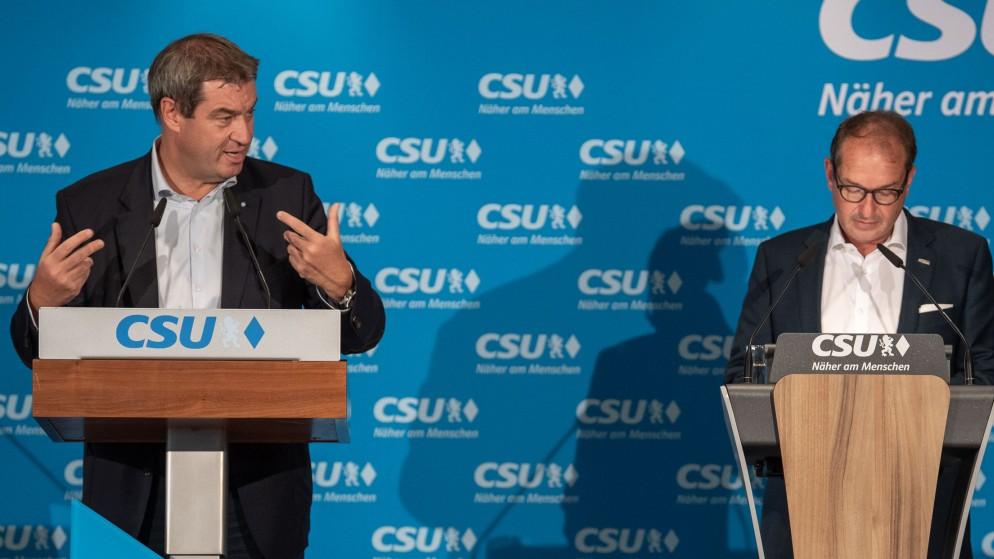 Bayern: Die Doppelspitze der CSU