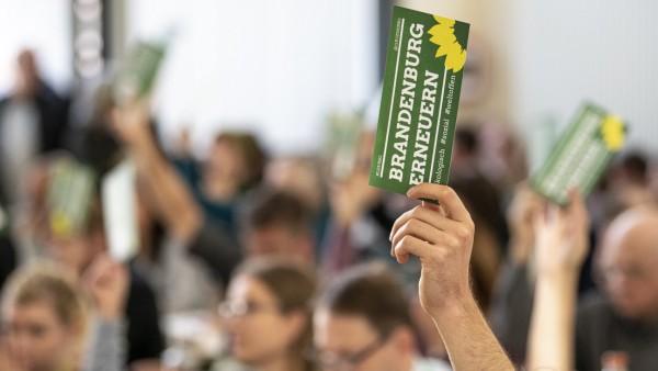 Kleiner Parteitag der Grünen Brandenburg