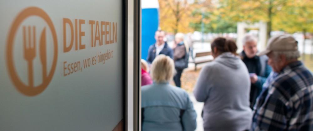 Tafeln in Deutschland sehen starken Zulauf