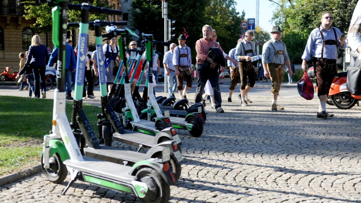 Oktoberfest und E-Scooter: Das kann teuer werden