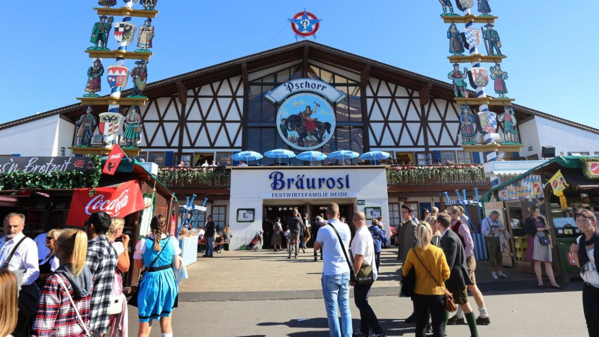 Oktoberfest: Bräurosl-Zelt wird komplett neu gebaut