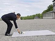 Obama Buchenwald, Getty Images