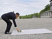 Obama Buchenwald, Getty Images