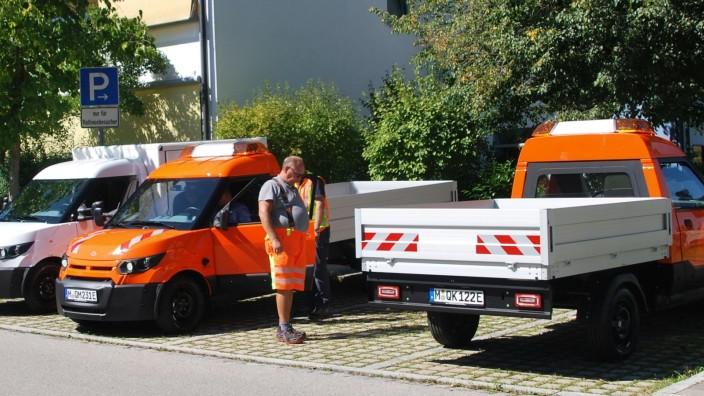Elektrofahrzeuge Gemeinde Grasbrunn Bauhof