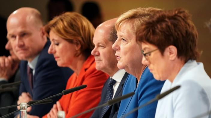 Klimapaket der Bundesregierung: Pressekonferenz nach der Sitzung des Klimakabinetts