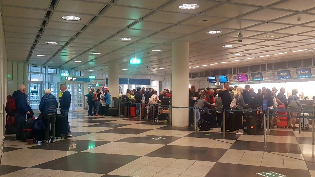 Lage am Flughafen München nach Pleite von Thomas Cook