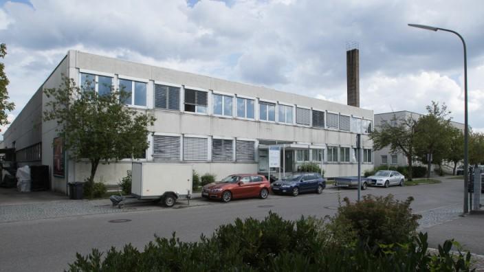 Gewerbegebiet Kirschgelände, Allach-Untermenzing, von der Kirschstraße aus