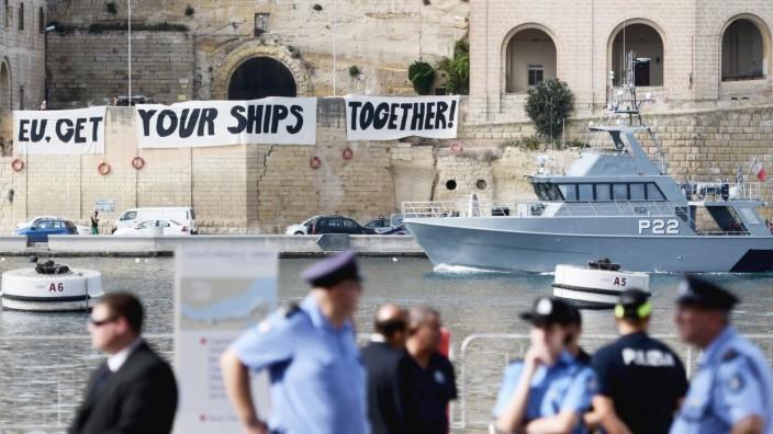 EU-Treffen der Innenminister auf Malta