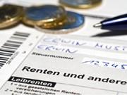 Steuererklärung Rentner, dpa