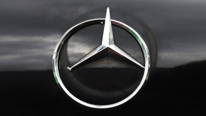 Abgebrochener Mercedes-Stern