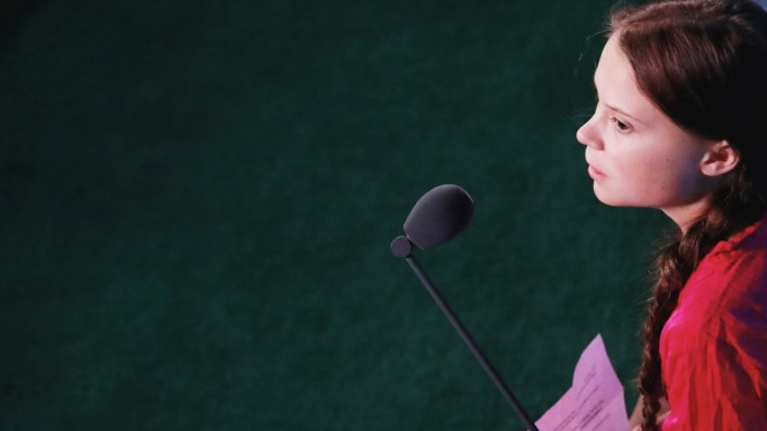 16-year-old Swedish Climate activist Greta Thunberg attends the 2019 United Nations Climate Action Summit at U.N. headquarters in New York City, New York, U.S.