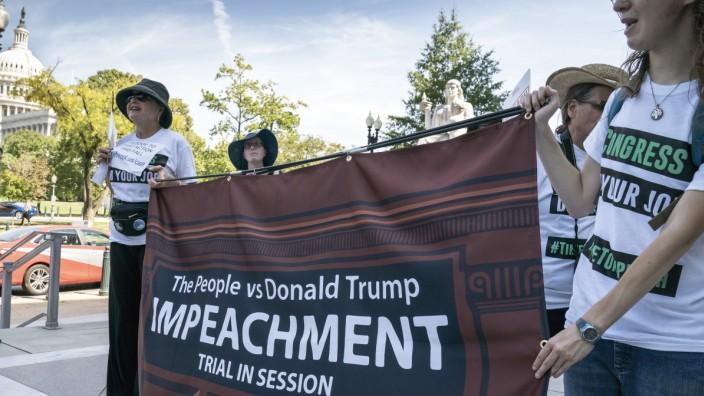 Trump Impeachment Protest