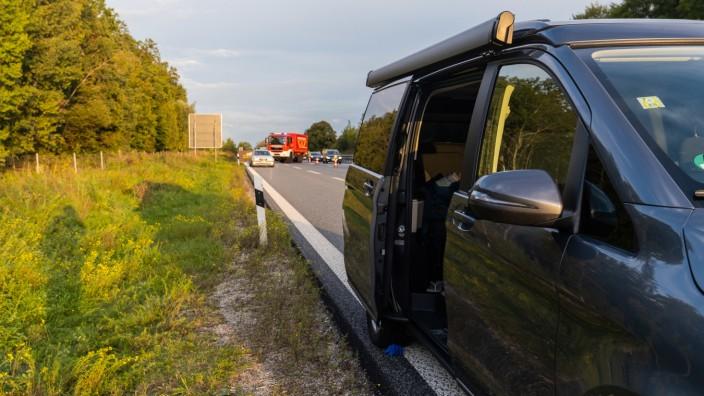 Mercedes Benz Vito Autobahn Unfall