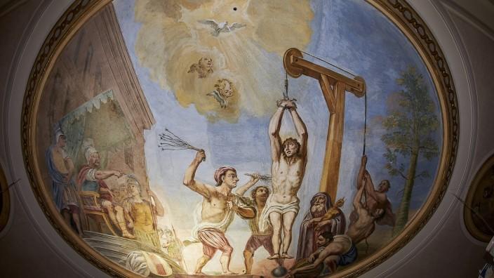 Renovierung Pfarrkirche St. Tertulin