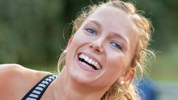 Sondersportfest WM Qualifikation Pfungstadt 21 08 2019 Katharina Trost LG Stadtwerke Muenchen GER; Katharina Trost