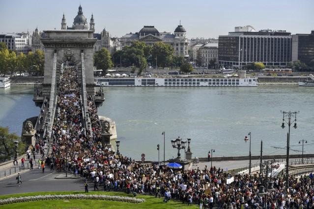 Klimastreik - Budapest