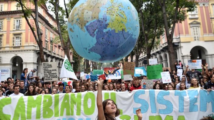Klimastreik - Turin