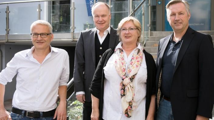 Sie wollen bei der Kommunalwahl 2020 punkten (von links): Dirk Höpner, Michael Melnitzki, Claudia Hartmann und Andreas Dorsch.