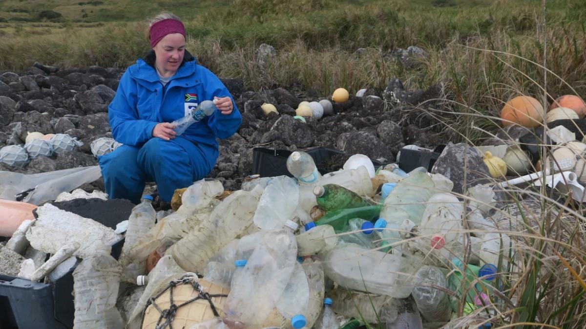 Plastikmüll gelangt von Schiffen in die Ozeane