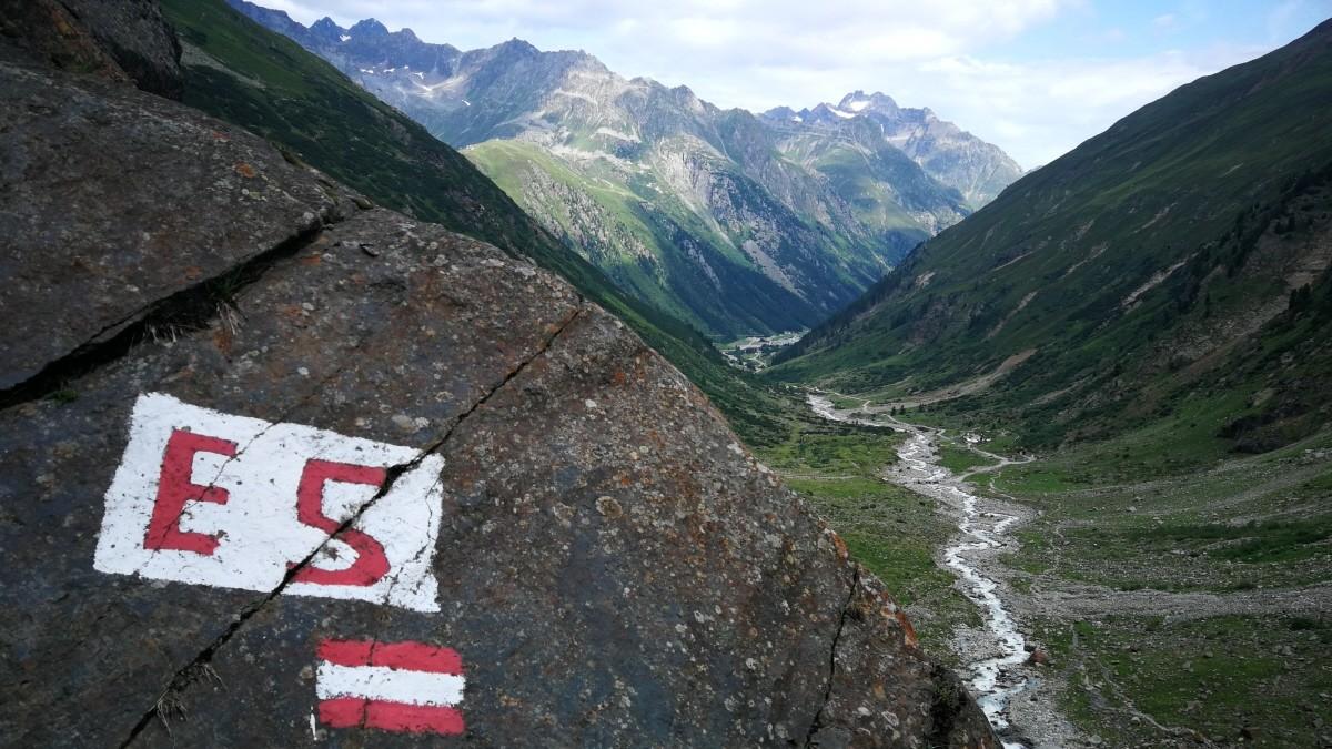 Alpenüberquerung: Zu Fuß nach Italien