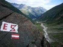 E5 Alpen Fernwanderweg Alpenüberquerung Wandern Pitztal