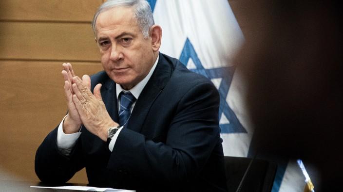 Israel: Benjamin Netanjahu 2019 in Jerusalem