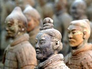 Xian und die Terrakotta-Armee, China, AP