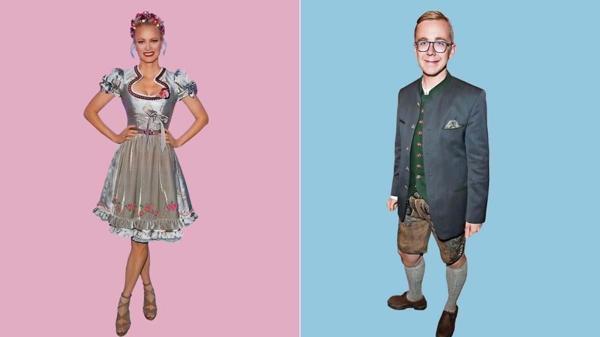 Oktoberfest in München: Stilkritik zur Promi-Trachten