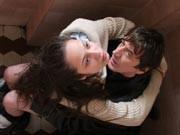 Liebe nur auf dem Klo: Zoltán Mucsi (rechts) und Kamilla Fátyol im ungarischen Thriller Tablo, Foto: Magyar Filmunió