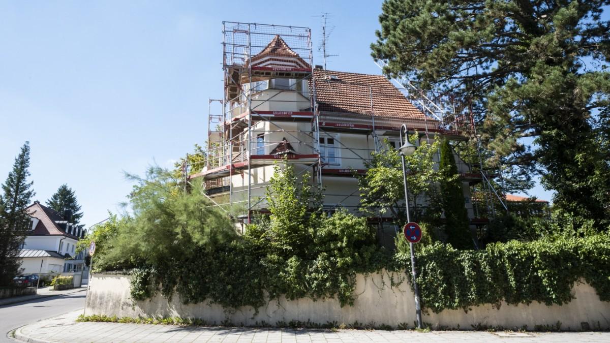Denkmalschutz in Pullach - Ein Türmchen für die Zofe