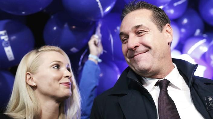 Die FPÖ ringt um die Zukunft von Philippa Strache