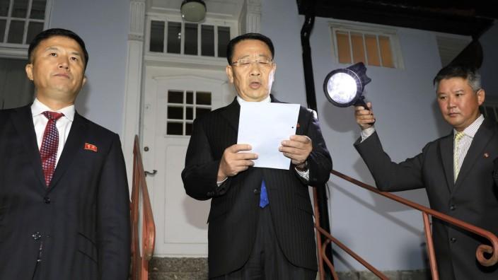 Kim Myong-gil, Nordkorea Atomgespräche