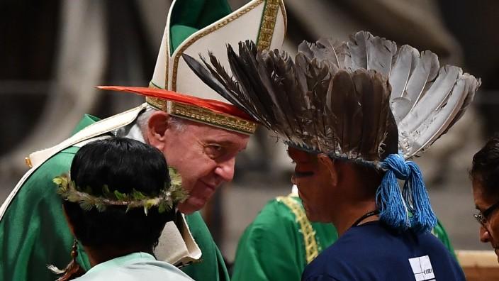 Amazonas-Synode, Papst Franziskus