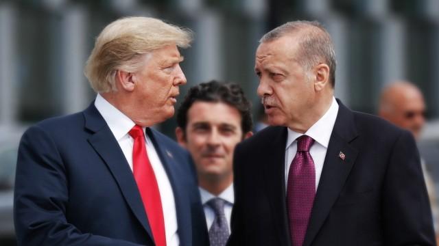 Politik Türkei Trump bringt Republikaner mit Syrien-Entscheidung gegen sich auf