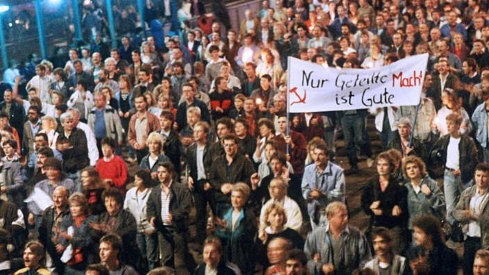 Montagsdemonstration 1989