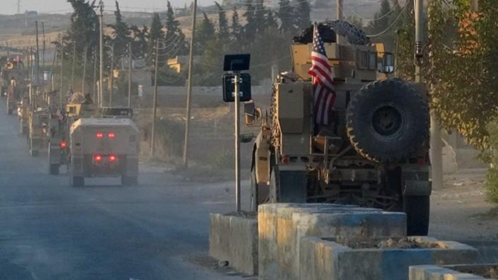 USA beginnen Abzug aus syrisch-türkischer Grenzregion