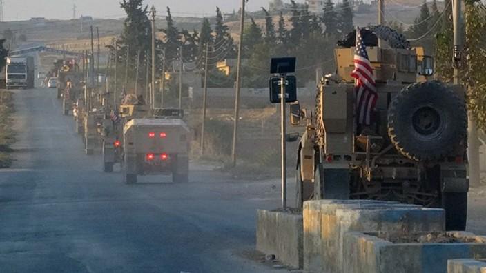 Trump warnt Türkei vor Einmarsch in Nordsyrien