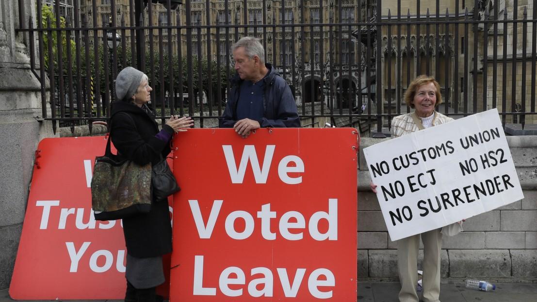 Brexit: Alles läuft nach Johnsons Plan